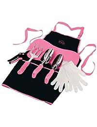 Apollo Precision Tools dt3790p Jardín Kit, Rosa, 7-Piece, Donación hecha a Cáncer de Mama Research