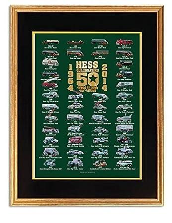 hess 50th anniversary poster