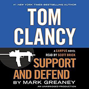 Tom Clancy Support and Defend Audiobook