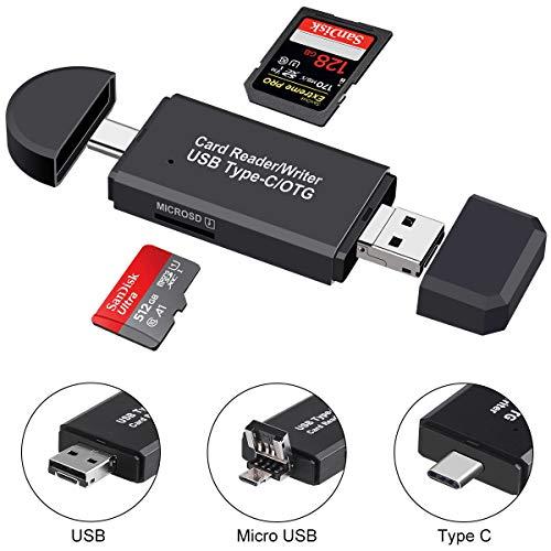 USB Type C SD Card Reader,USB...