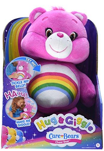 Just Play Care Bears Hug   Giggle Feature Share Plush