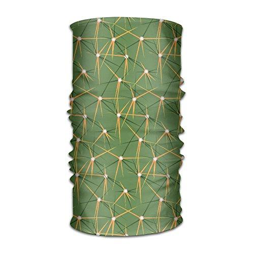 SVVOOD Cactus Spine And Rib Patterns Headwear Magic Scarf Balaclava UV Protection Bandana Headband Neck Gaiter Face Sun Mask For Fishing Hunting Yard Work Running Motorcycling ()