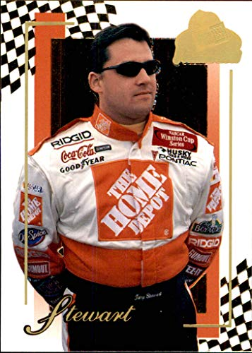 2001 NASCAR Press Pass Premium Gold #25 Tony Stewart