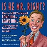 Is He Mr. Right?, David Samson and Elayne J. Kahn, 1561719129