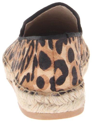 Steven Di Steve Madden Womens Lanii Flat Leopard Pony