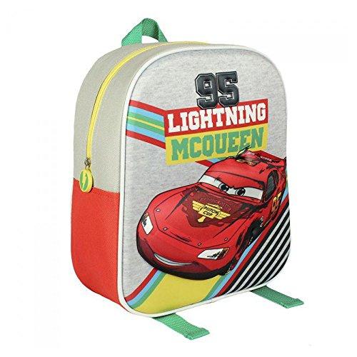Licensed Disney EVA 3D Cars Children/'s Backpack 7 L Red 31 cm