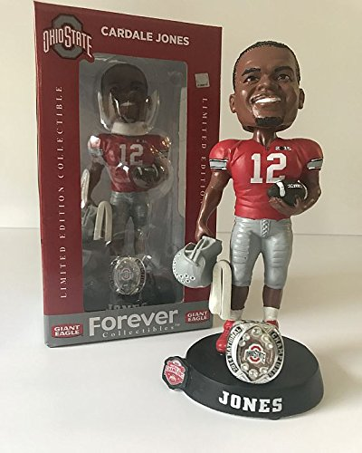 Cardale Jones Ohio State Buckeyes Limited Edition Bobblehead 2014 National Champions Limited Edition Collectible