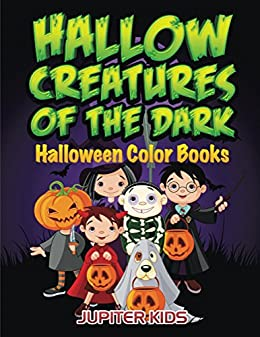 Hallow Creatures Dark Halloween Coloring ebook
