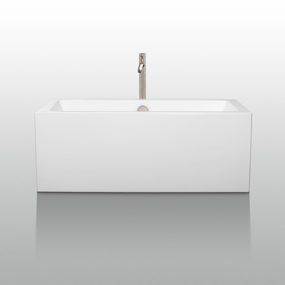 Wyndham Collection Melody 60 inch Freestanding Bathtub for ...