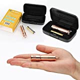 Olight® Mini Flashlight 120 Lumens i3E Solid Copper AAA Flashlight Compact Tiny Beautiful Keychain Key Ring Pendant EDC Flash Torch