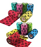 2 inch Vet Wrap Tape Bulk, FDA Approved, Dog Cat Pet Horse...