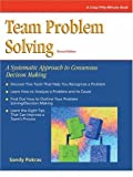 img - for Crisp: Team Problem Solving, Revised Edition: A Systematic Approach to Consensus Decision Making (Crisp Fifty-Minute Books) by Sandy Pokras (1994-09-23) book / textbook / text book