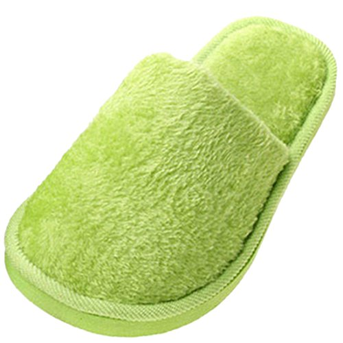 Pour Chaussons Chaussons Femme green Femme Zhuomei Zhuomei green Zhuomei Pour YCwHt