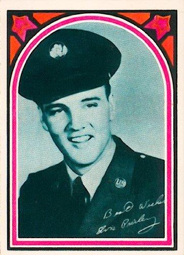 1978 Elvis Presley Collectible Trading Card #44