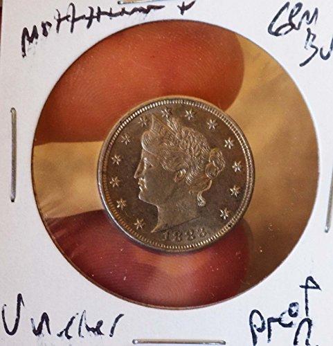Liberty Nickel 1883 Ch Gem bu proof Look? Stunning Beauty