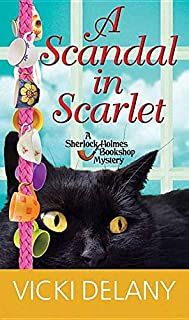 Book Cover: A Scandal in Scarlet: A Sherlock Holmes Bookshop Mystery