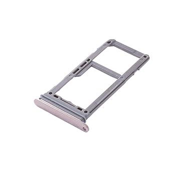 UKCOCO Bandeja de la Tarjeta SIM y Ranura para la Tarjeta SD Soporte de la Ranura Accesorios de Repuesto para celulares Samsung Galaxy S8/S8 Plus ...