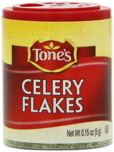 Tone's Mini's Celery Flakes, 0.15 Ounce (Pack of 6) by Tone's