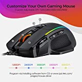 VicTsing Ergonomic Wired Gaming Mouse, 8