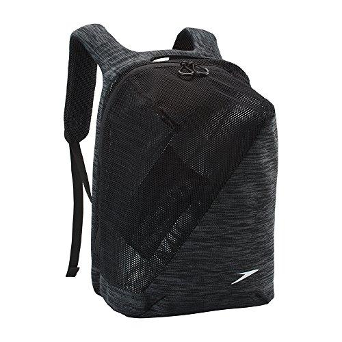 (Speedo Hyla Pack, Black/Grey, One Size)
