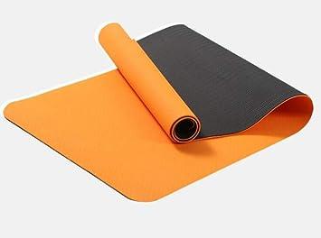WLWW Colchoneta de Yoga Bicolor Pilates Gimnasia colchoneta ...