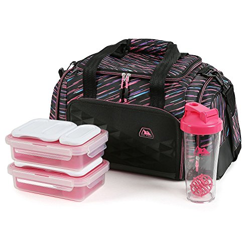 (Arctic Zone Portion Control Insulated Duffel Lunch Bag (Brush Beam))