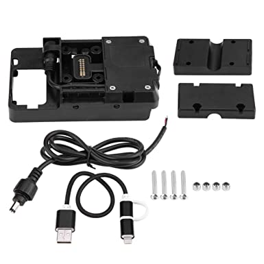 Amazon.com: Soporte para teléfono móvil con cargador USB ...