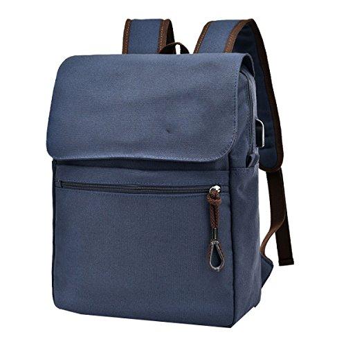 Yy.f Nuevo Paquete Paquete De Onda Retro Mochilas Al Aire Libre De Los Hombres Bolsas Bolsos De Hombro Bolsas De Moda Multicolor Blue