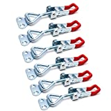 Antrader Toggle Latch Clamp GH-4001 Steel Quick Release Catch Clip 330Lbs Capacity Pack of 6