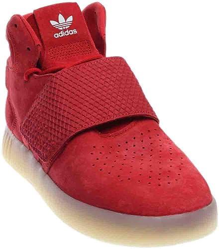 adidas Originals Tubular Invader Strap Sneakers In Beige BB5035
