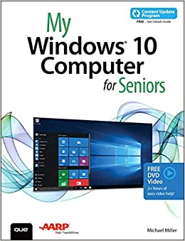 Book My Windows 10 Computer for Seniors (includes Video and Content Update Program)
