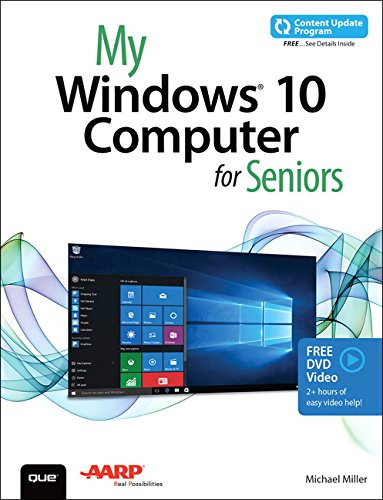 My Windows 10 Computer For Seniors  Includes Video And Content Update Program