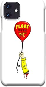 Hat Shark Customized Phone Case Compatible with iPhone 11 Pro Max - Float with Me Severed Arm Horror