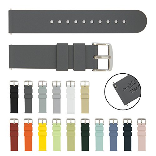 Watch Straps Silicone Replacement Graphite product image