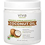 Viva Naturals Organic Virgin Coconut Oil 16 ounces / 473 millilitres