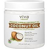 Viva Naturals Organic Virgin Coconut Oil 16 ounces/473 millilitres