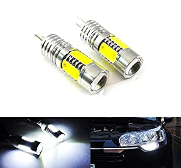 Luz lateral diurna LED DRL Luffy HP24 W HPY24 W G4 Cree: Amazon.es: Coche y moto