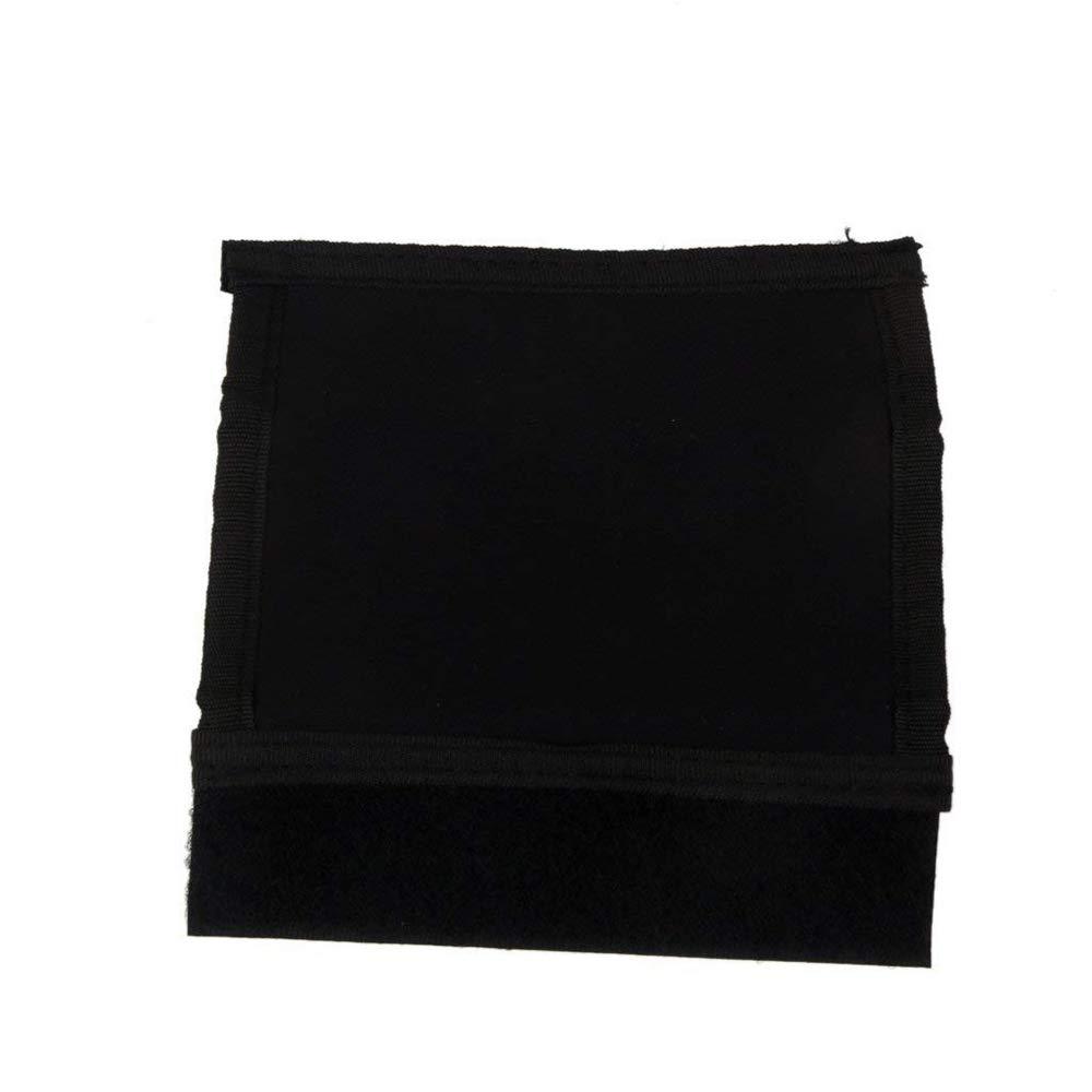 Ogquaton Durable Baby Cover Poussette Pram Grip Handle poign/ée d/élasticit/é Housse de protection avec du ruban velcro pour poussette parapluie 2 PCS noir
