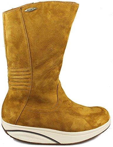 MBT - Botas de Piel para mujer beige beige 39
