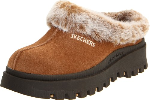 choose official purchase newest popular stores Skechers Women's Fortress Clog Slipper