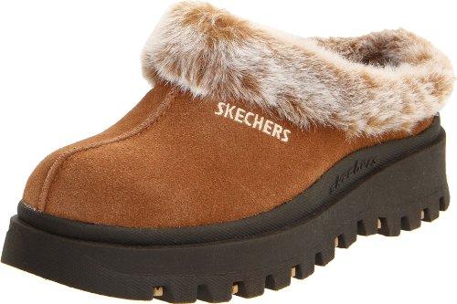Skechers Fortaleza estorbo deslizador Chestnut