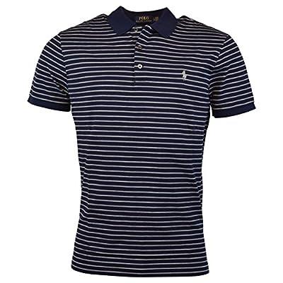 Polo Ralph Lauren Mens Custom Fit Mesh Stretch Polo Shirt