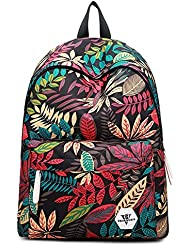 Galaxy School Backpack, SKL School Bag Student Stylish Unisex Canvas Laptop Book Bag