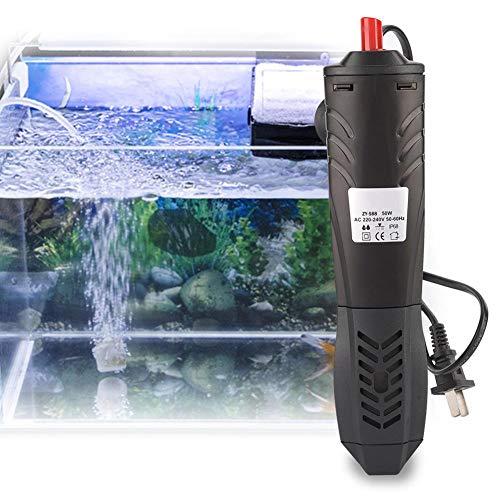 Hffheer Calentador de Agua para Acuario Calentador de Agua Sumergible para Peces Calentador de Agua para Peces Calentador de Agua para Ajustar la Temperatura del Acuario (1#): Amazon.es: Productos para mascotas