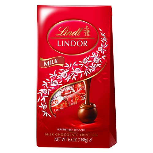 - Lindt Lindor Irresistibly Smooth Milk Chocolate Truffles 6oz