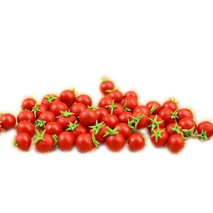 10X muchos tipos de fruta Miniatura Dollhouse Decoración Hecho a mano de suministro de alimentos NUEVO ~