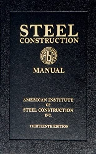 steel construction manual 13th edition book american institute rh amazon com aisc steel construction manual 9th edition pdf free download aisc steel construction manual 9th edition pdf free download