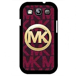 (Mk) Mickhael And Kors Phone funda,Luxury Brand Pattern Samsung Galaxy S3 Plastic Back funda