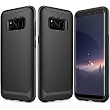 Galaxy S8 Case, Besiva Ultra Thin & Light Reinforced Frame Durable Shock-Absorption Flexible Soft TPU Bumper Hybrid Protective Case for Galaxy S8 Case