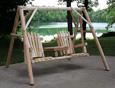 Lakeland Mills Tete-a-Tete Yard Swing Set
